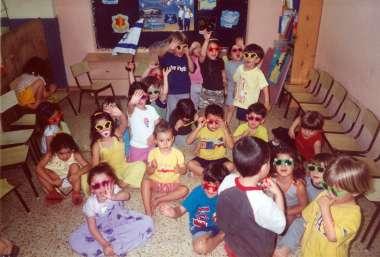 פעילות כיתתית עם משקפיים